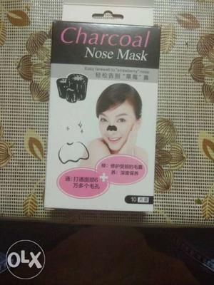 Charcoal Nose Mask. Very effective for blackheads.