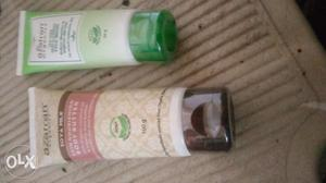 Face wash 50g and body lotion 100g packed