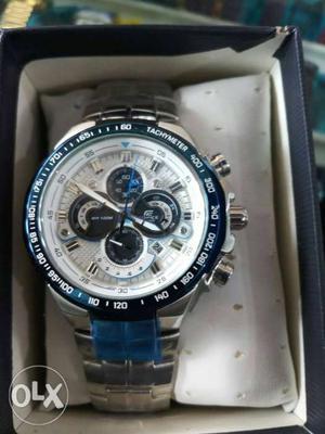 New casio edifice chronographer watch for men