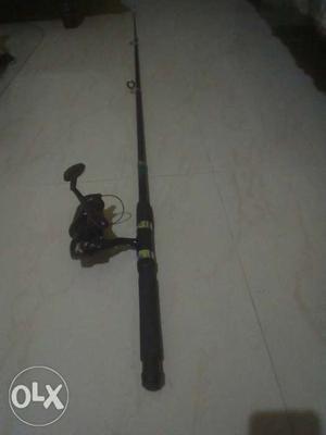 Black And Gray Fishing Rod(new)