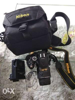 Brand new DSLR NIKON D with all accessories