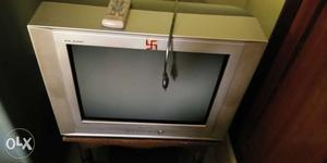 Its a 7 year old samsung colour tv with original