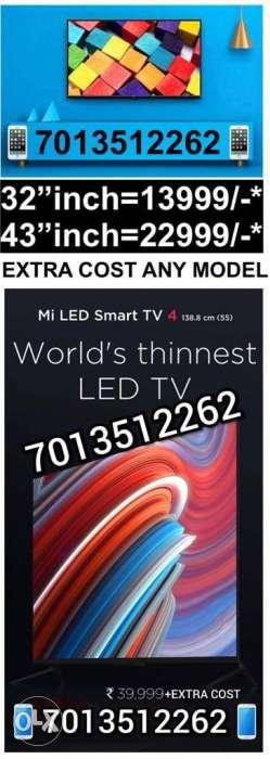 Mi TV(4A)=43inch(FULL HD)/32inch(HD) SMART TV Sealed