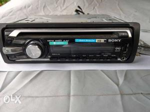 Sony car cd player with front Usb and aux input