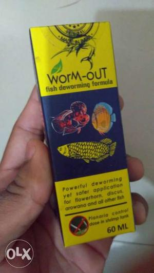 Deworming For Fishes...Life saver for all