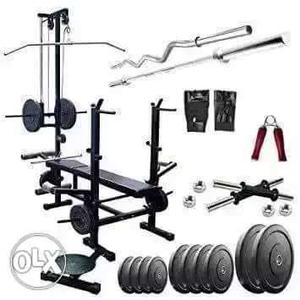 Brand new combo of 20 in 1 home gym bench