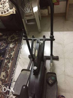 Exercise equipment for cross training at home.
