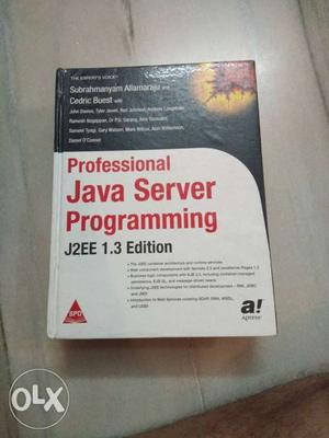 Professional Java Server Programming J2EE 1.3 Edition Book