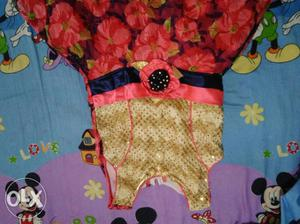 2nos Fancy dress for 5 to 6 years old. unused.