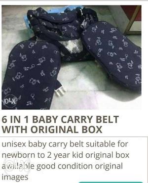 6 in 1 baby carry belt