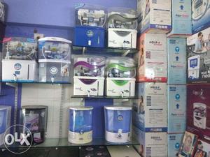Aqua Liv 12 L RO + UV + UF + TDS Water Purifier (White)