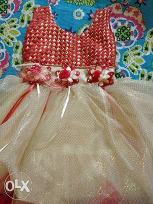 Fairy frock for 1 to 2 years old baby girl