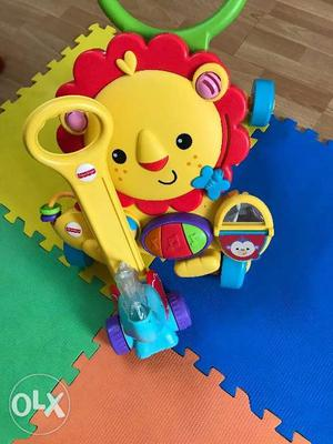 Fisher Price Toys-almost new. Both for INR