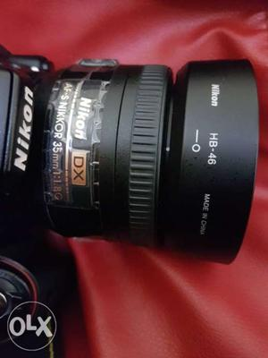 Nikon 35mm 1.8G prime lens in a mint condition.