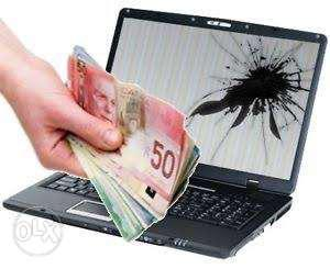 Spot payment for used Laptop or desktop buying good price