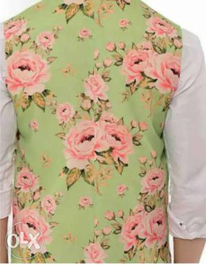 Stylish nehru jacket available... at your door