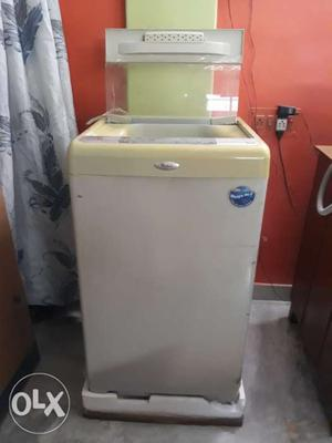 Whirlpool fully automatic top load 6.5 kg
