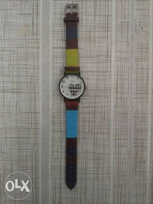 It's a brand new watch for girls. Smart dial and