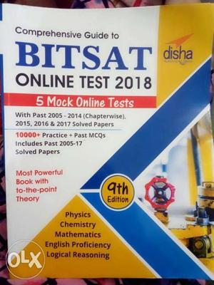 BITSAT online test preparation book. ORIGINAL