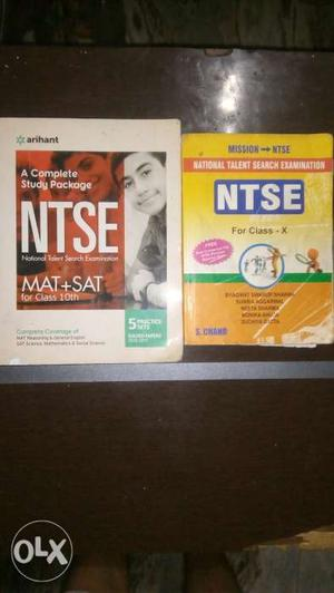 NTSE book by arihant publications with 5 practise