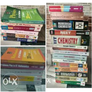 Neet Jee Mains And Advance Books on Physics Chemistry