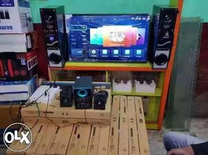 Wholesale and retail of imported led tv and sound system.