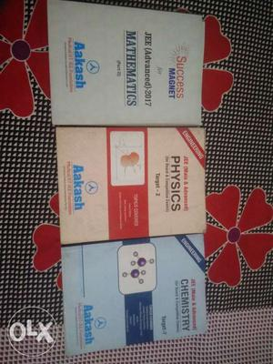 Aakash book set for IIT-JEE. complete 2 year