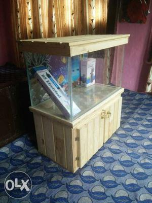 Aquarium in sale size 2ft by 1ft by 1ft 2inch