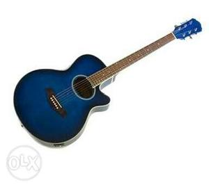 Blue Guitar 4 month old good condition