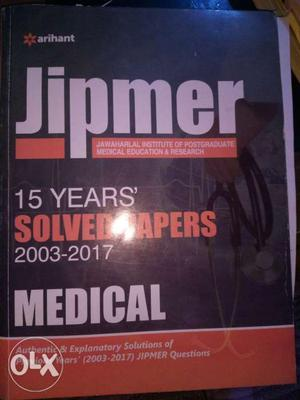 Jipmer 15 years solved papers medical