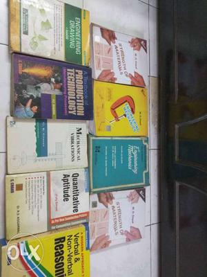 Mechanical Engg books plus two books for