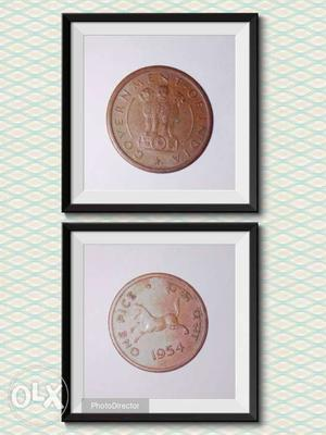 One pice coin of . Running Horse.Made off