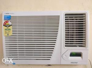 1 year old 1.5ton 3star Voltas AC with remote.