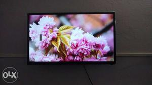 40 inch android smart led TV Sony company with 1 year