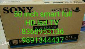 50 Sony smart full HD led TV Box pack