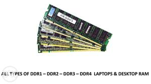 All Type Ram Laptop Desktop Available Wholesale Price-325