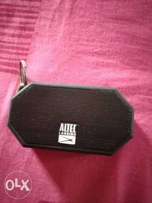 Altec lansing Bluetooth speaker. water and dust