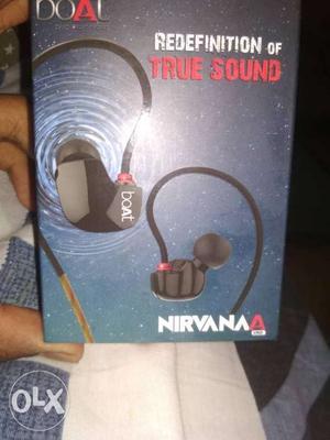 BoatNirvana uno in-ear earphones with mic(boxed