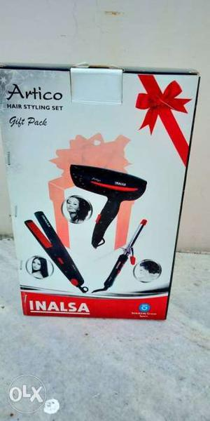 Combo of hair dryer and hair straightener as good