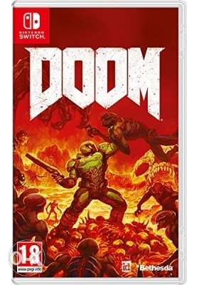 Doom for Nintendo switch on rent for one week