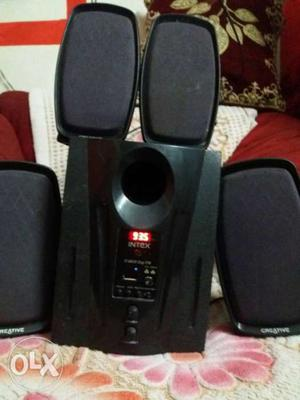 Intex home theater xlant condition, with fm and