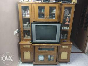 """LG 29"""" flat TV and TV cabinet TV tip top working"""