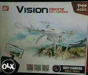Vission wi fi camera drone