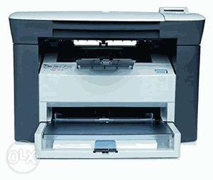 White And Black Printing Machine