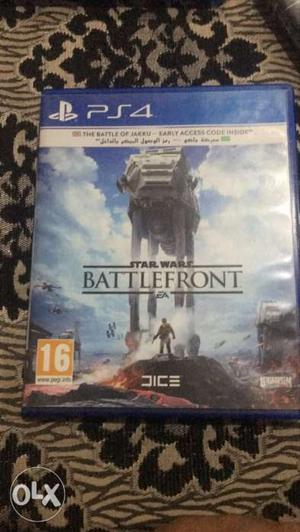 Battle front game ps4 for sale only.