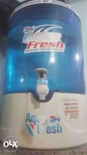 Blue And White Aqua Fresh Water Purifier