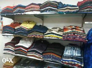 Complete mens boutique for rent with all stock