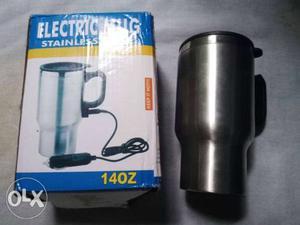 Electric mug chai garam rakhne ke liye