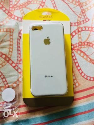 Iphone 8 7 back Pauch Pure white new one gulf