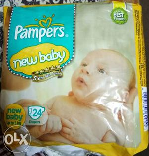 It is opened Pampers Active Baby 18 Daipers Only 210 Rupees